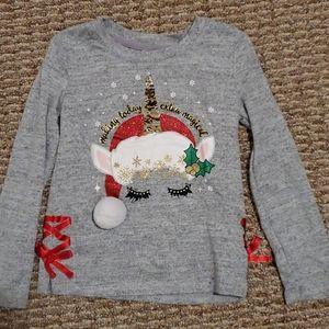 Girls Holiday Top